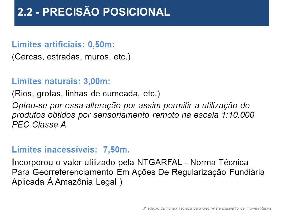 2.2 - PRECISÃO POSICIONAL 2. Objetivos