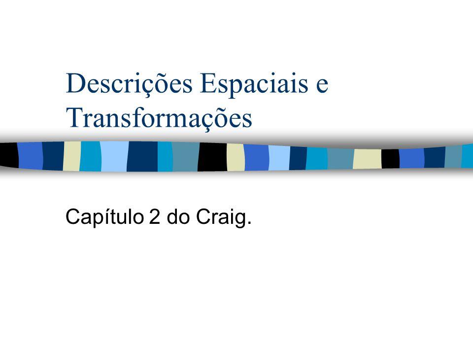 Descrições Espaciais e Transformações