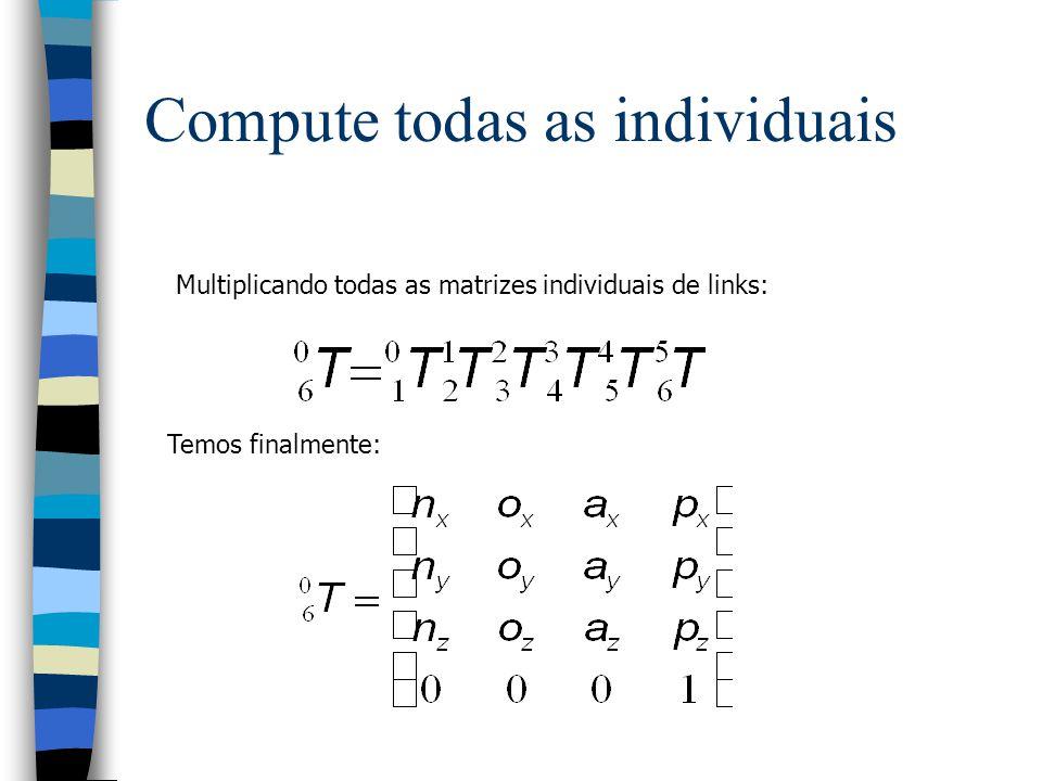 Compute todas as individuais