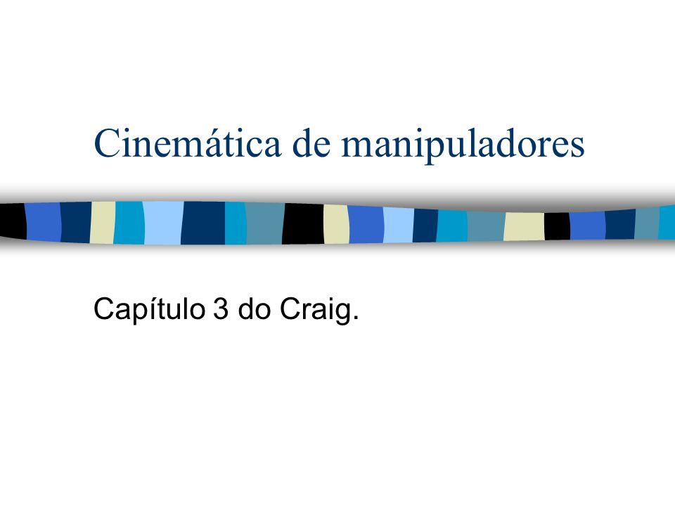 Cinemática de manipuladores