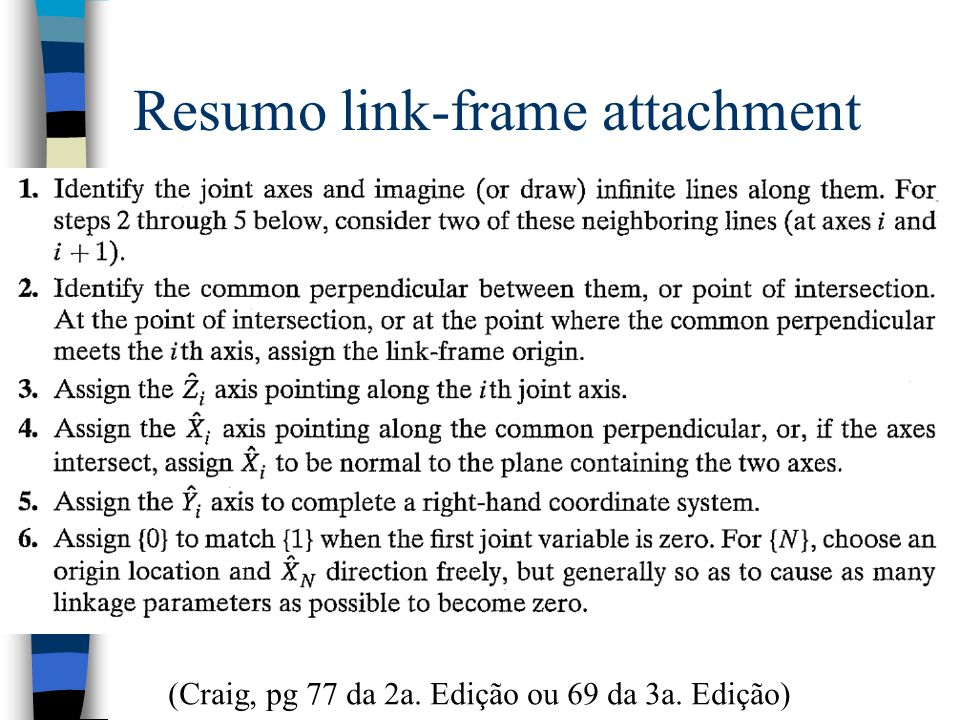 Resumo link-frame attachment