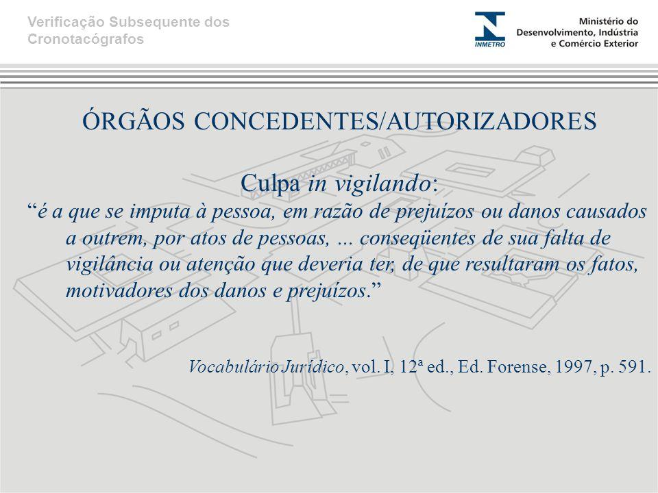 ÓRGÃOS CONCEDENTES/AUTORIZADORES