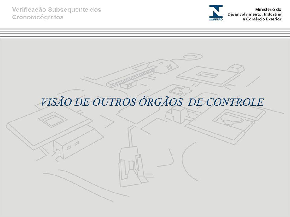 VISÃO DE OUTROS ÓRGÃOS DE CONTROLE