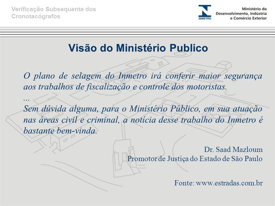 Visão do Ministério Publico