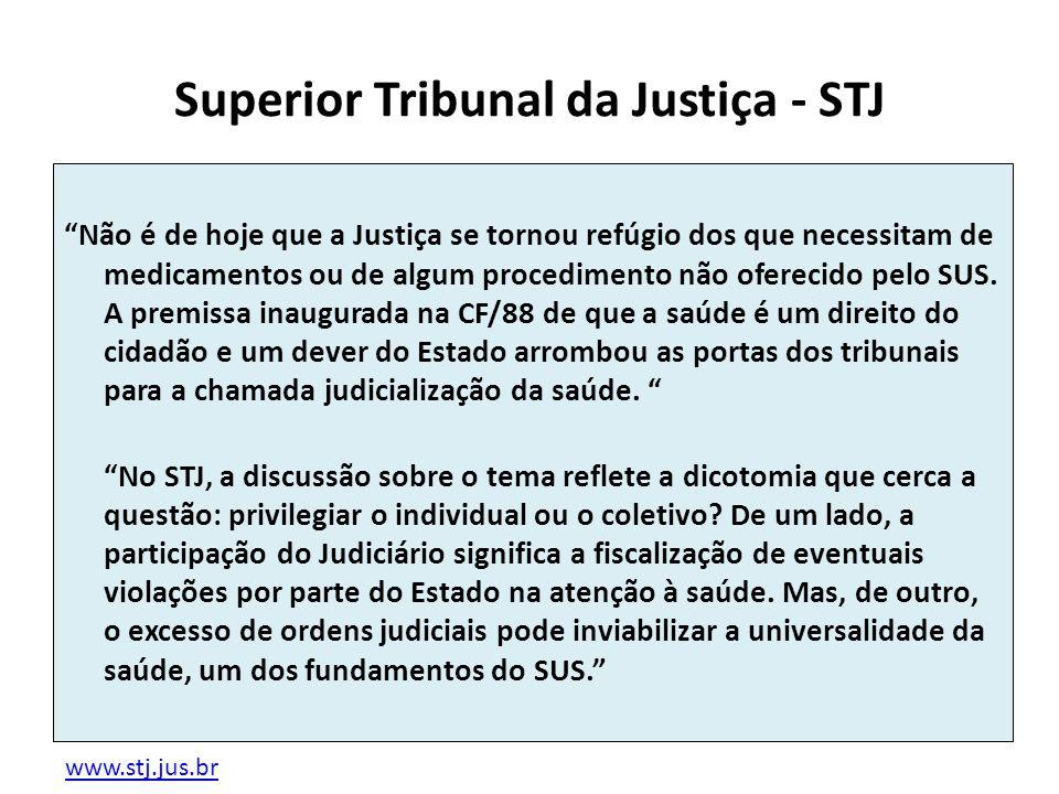 Superior Tribunal da Justiça - STJ