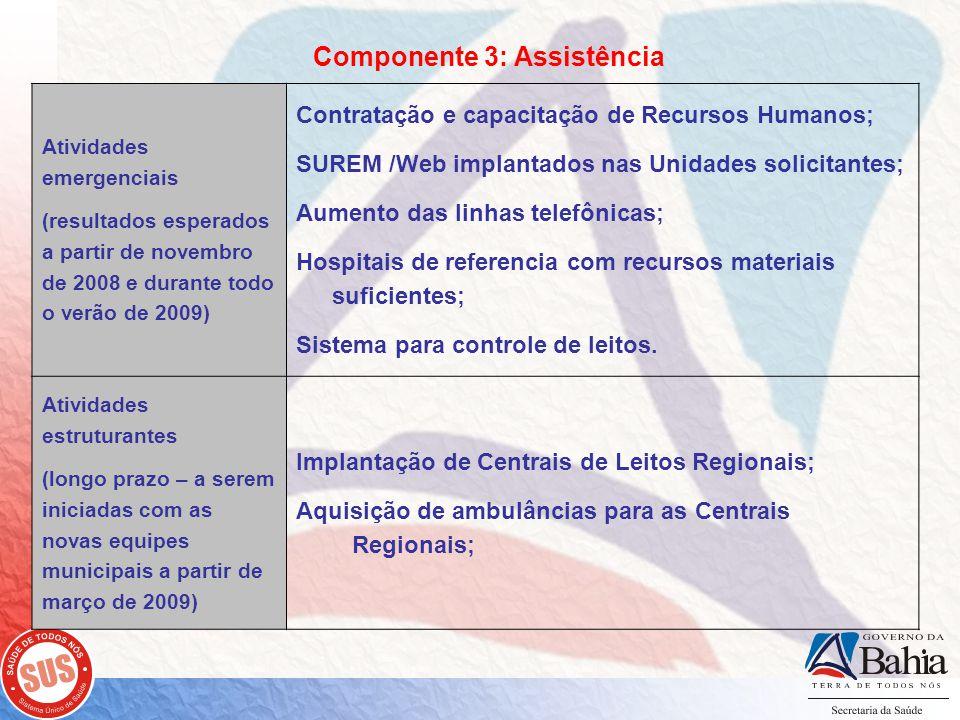 Componente 3: Assistência