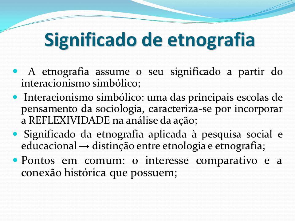 Significado de etnografia