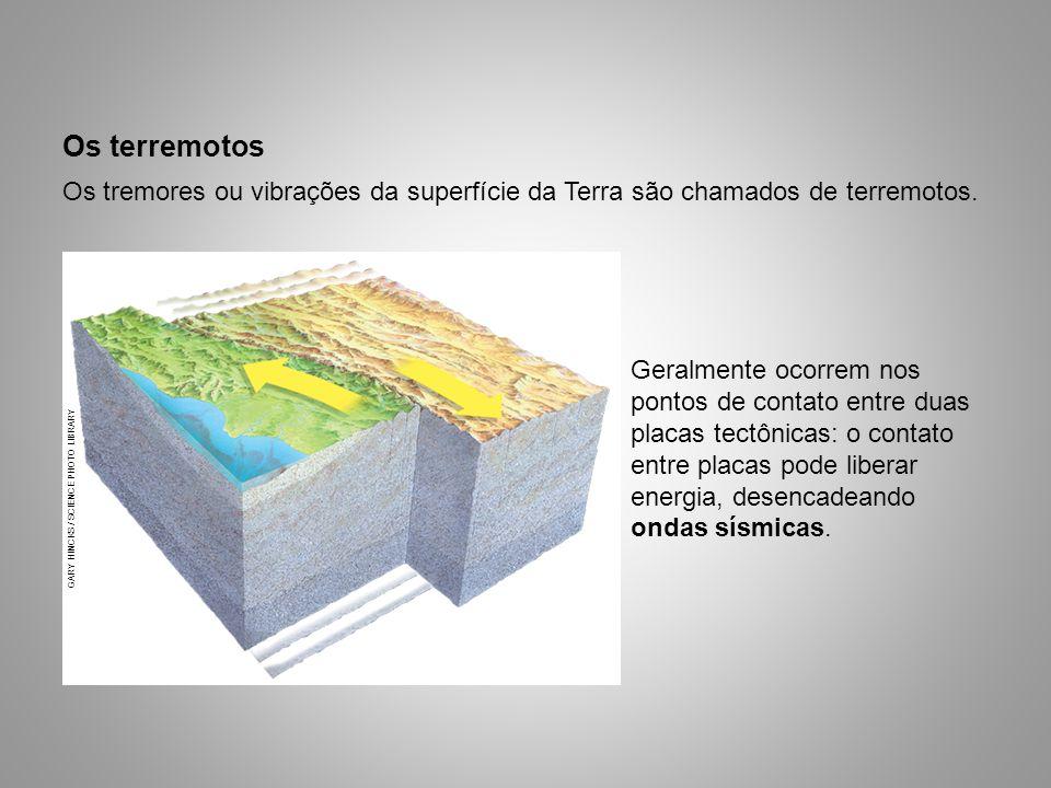 Os terremotos