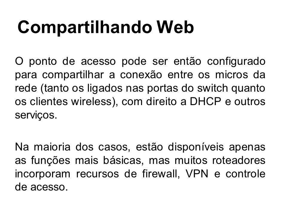 Compartilhando Web