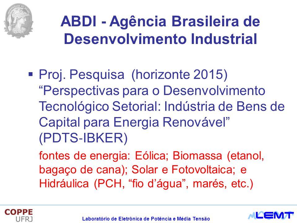 ABDI - Agência Brasileira de Desenvolvimento Industrial