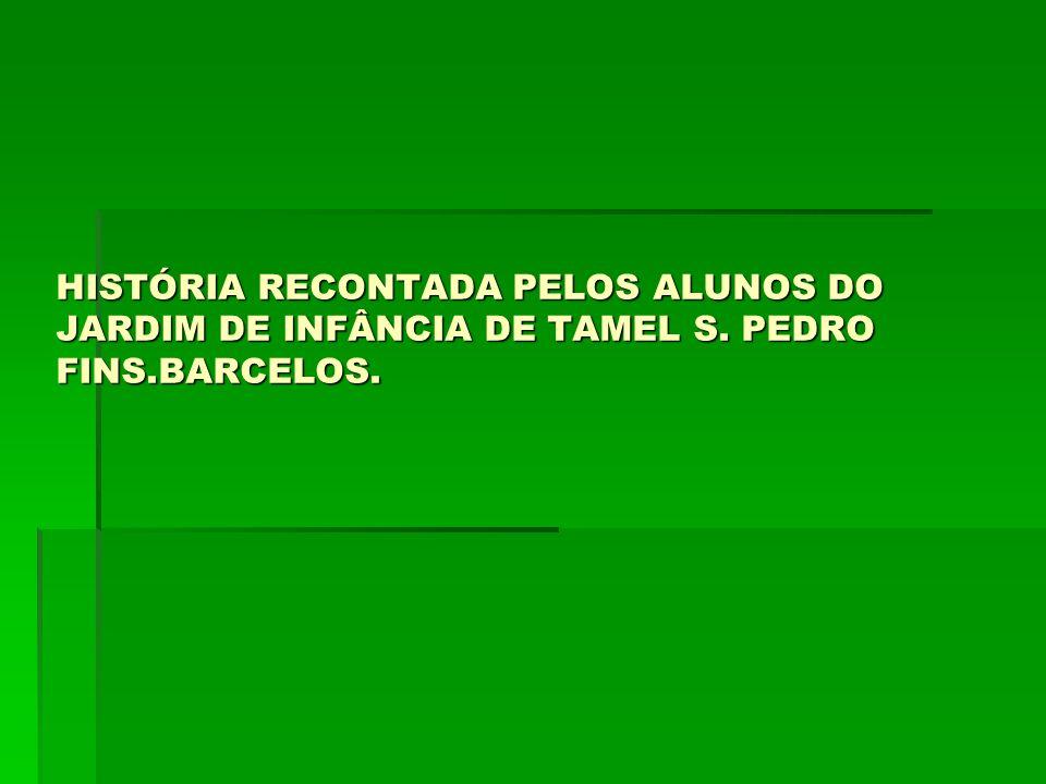 HISTÓRIA RECONTADA PELOS ALUNOS DO JARDIM DE INFÂNCIA DE TAMEL S