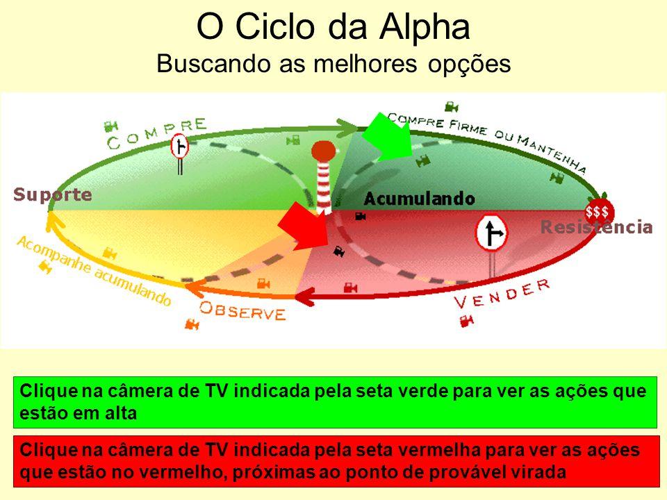 O Ciclo da Alpha Buscando as melhores opções