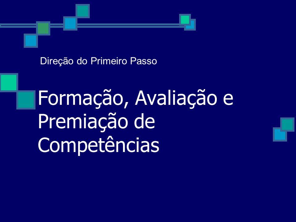 Formação, Avaliação e Premiação de Competências