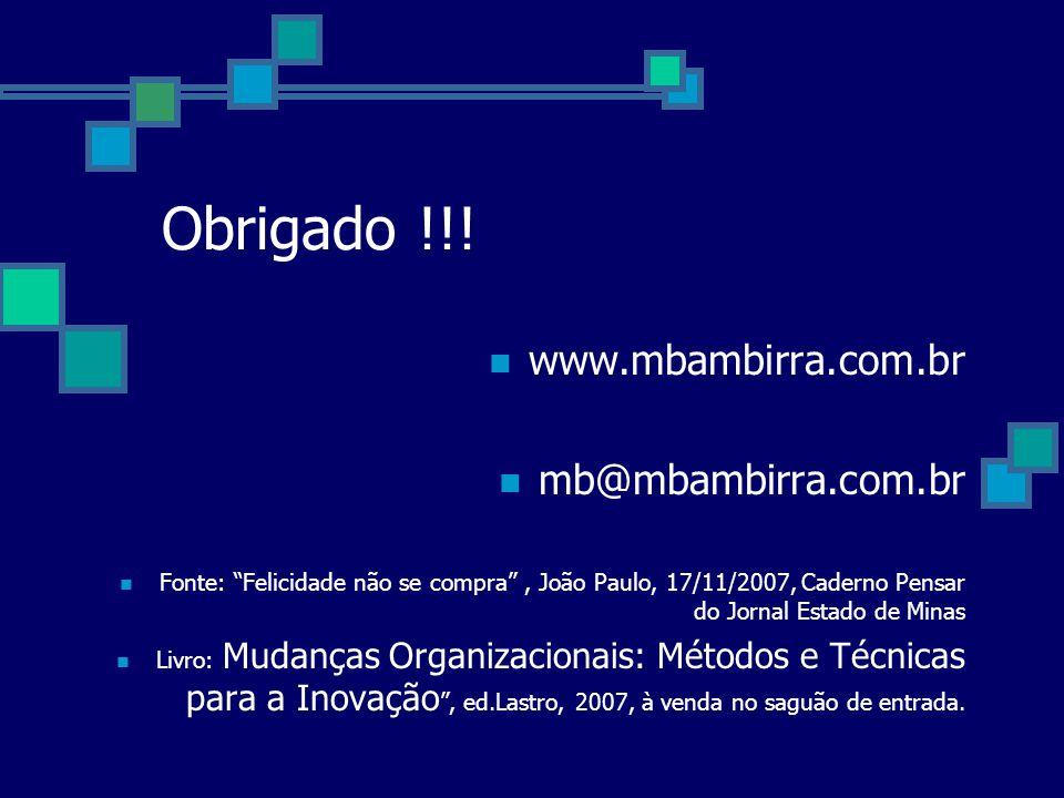 Obrigado !!! www.mbambirra.com.br mb@mbambirra.com.br