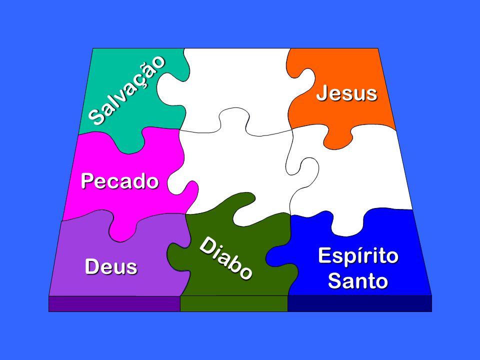 Diabo Deus Jesus Espírito Santo Salvação Pecado