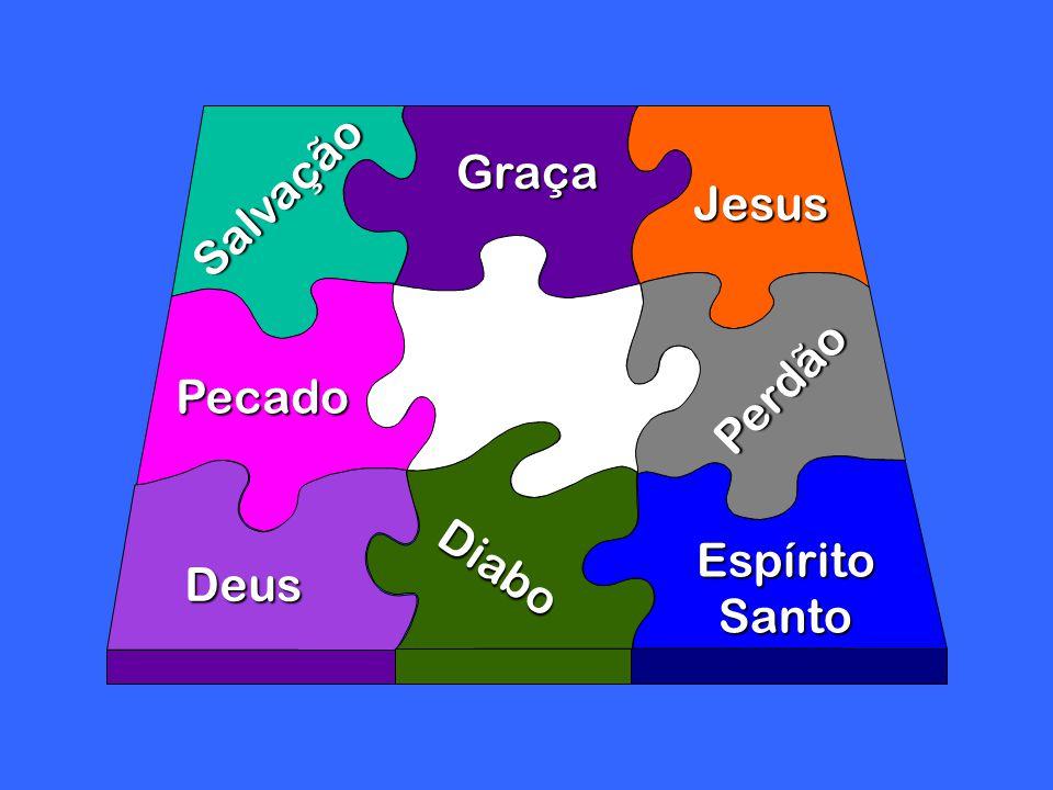 Salvação Pecado Graça Diabo Deus Jesus Espírito Santo Perdão