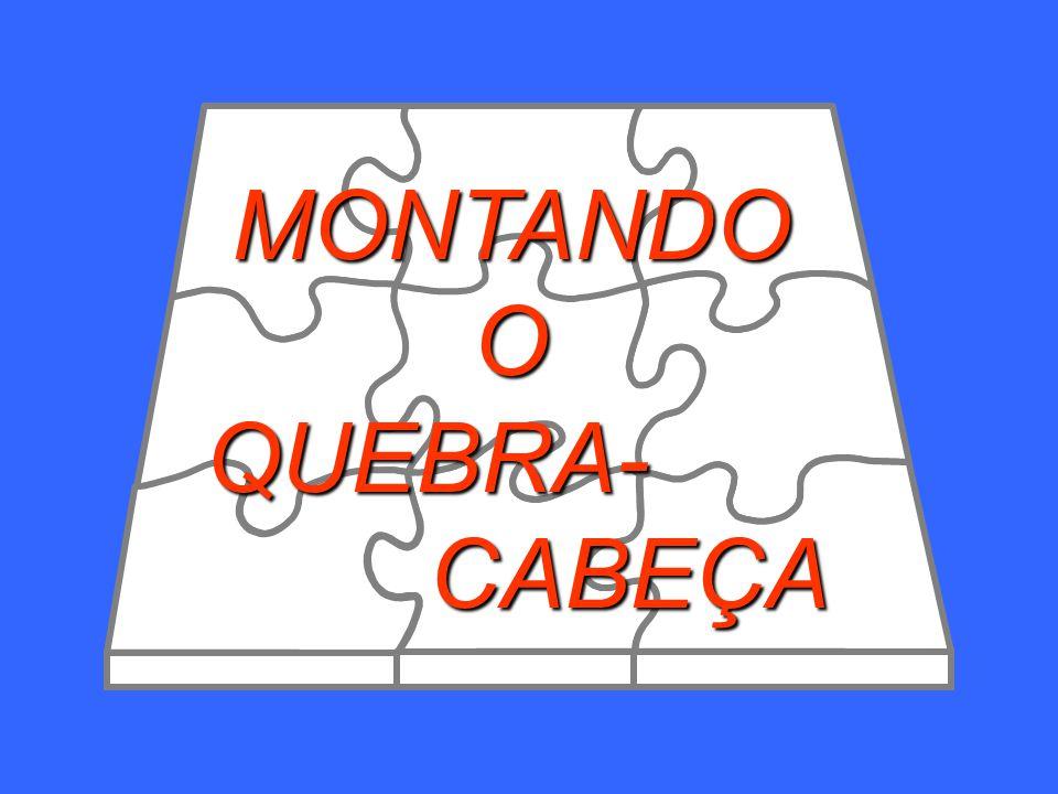 MONTANDO O QUEBRA- CABEÇA