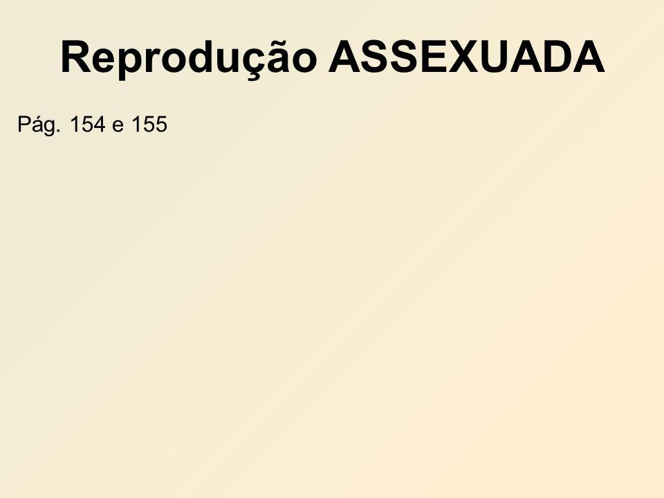 Reprodução ASSEXUADA Pág. 154 e 155