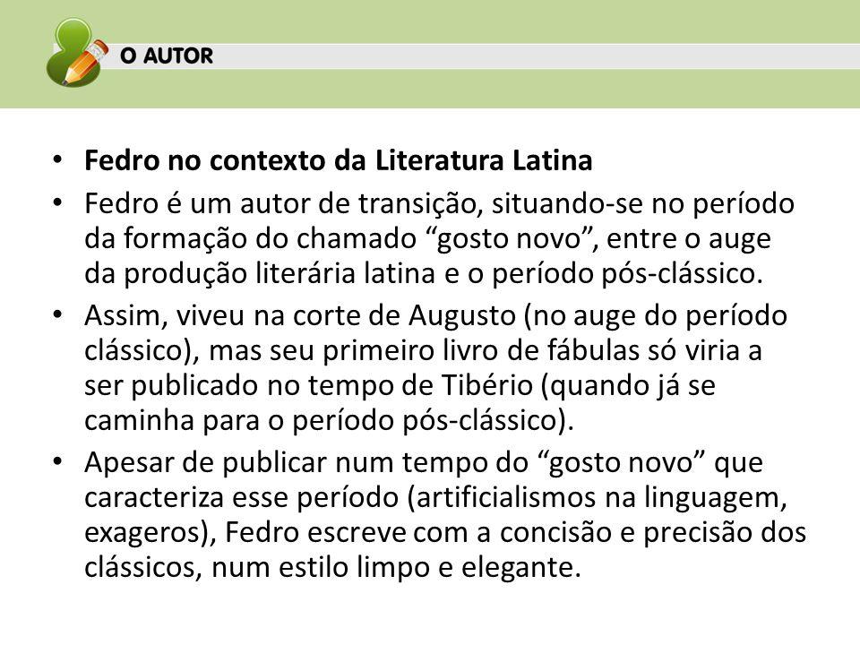 Fedro no contexto da Literatura Latina