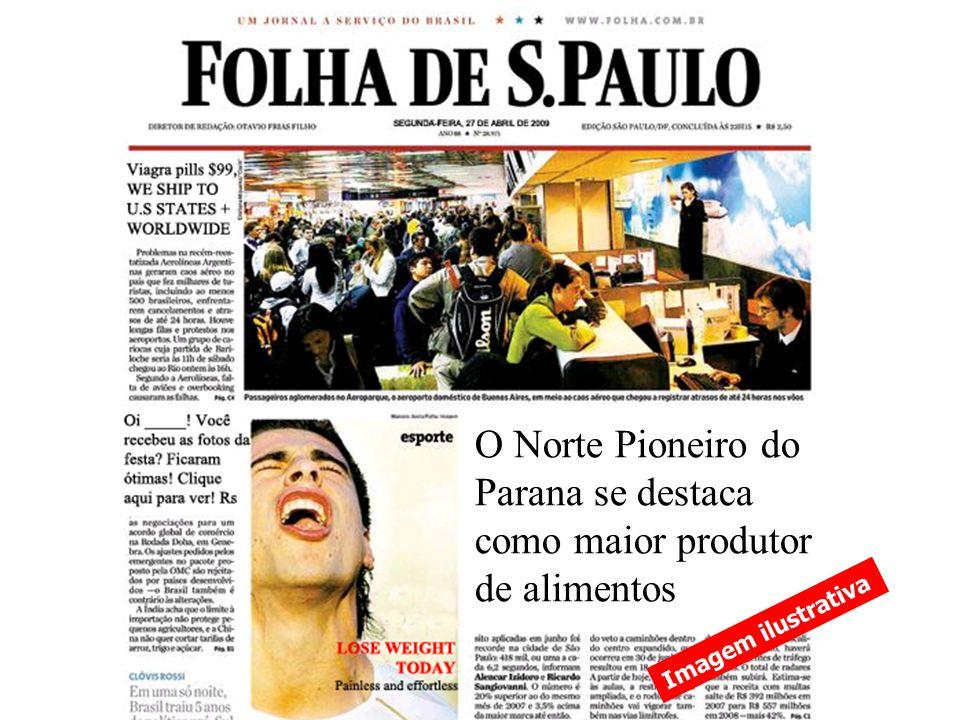 O Norte Pioneiro do Parana se destaca como maior produtor de alimentos