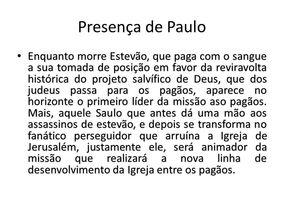 Presença de Paulo