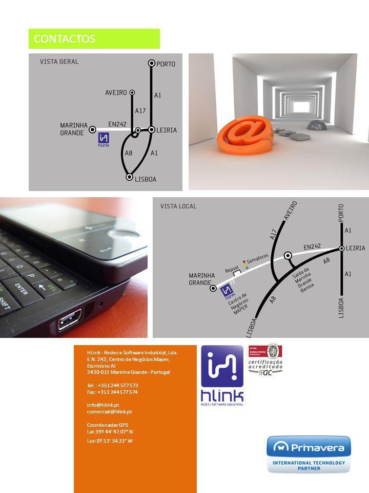 CONTACTOS HLink - Redes e Software Industrial, Lda.