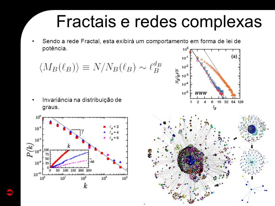 Fractais e redes complexas