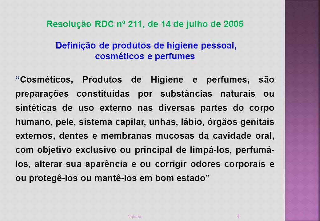 Resolução RDC nº 211, de 14 de julho de 2005
