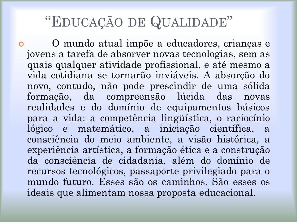 Educação de Qualidade