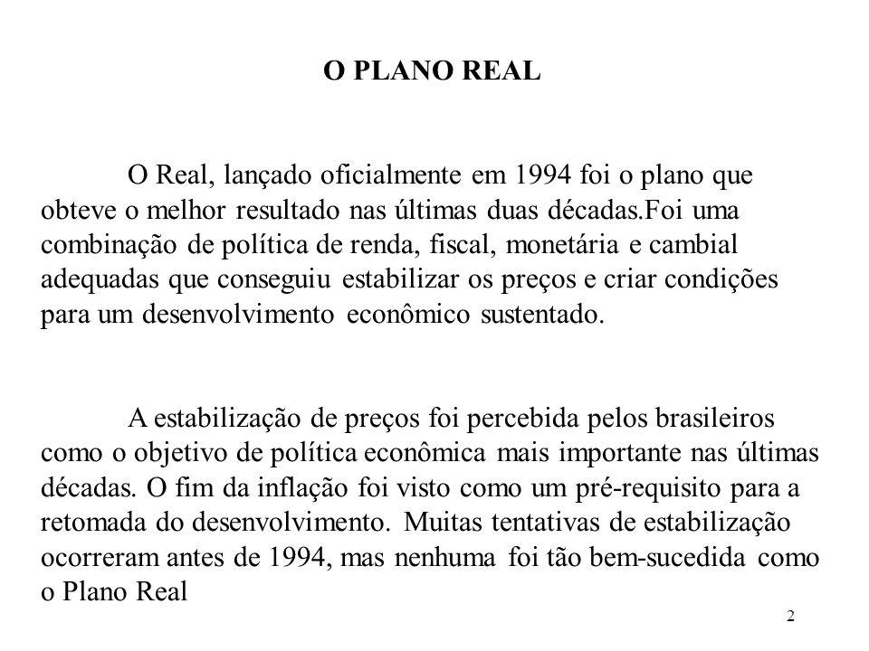 O PLANO REAL