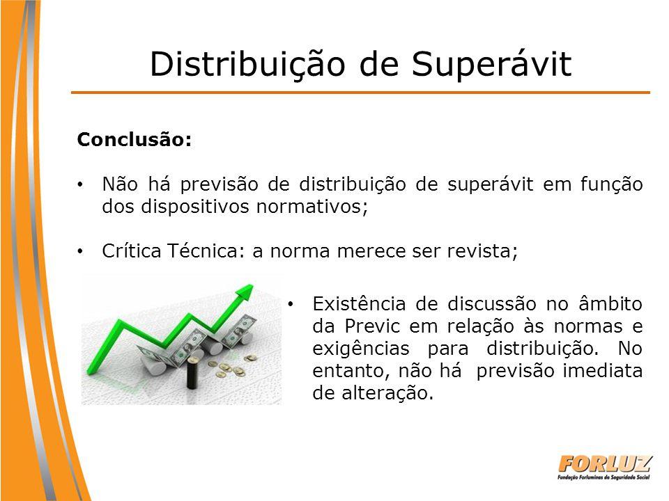 Distribuição de Superávit
