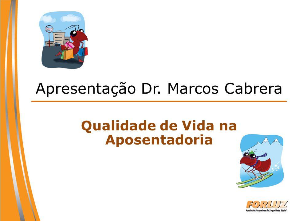Apresentação Dr. Marcos Cabrera