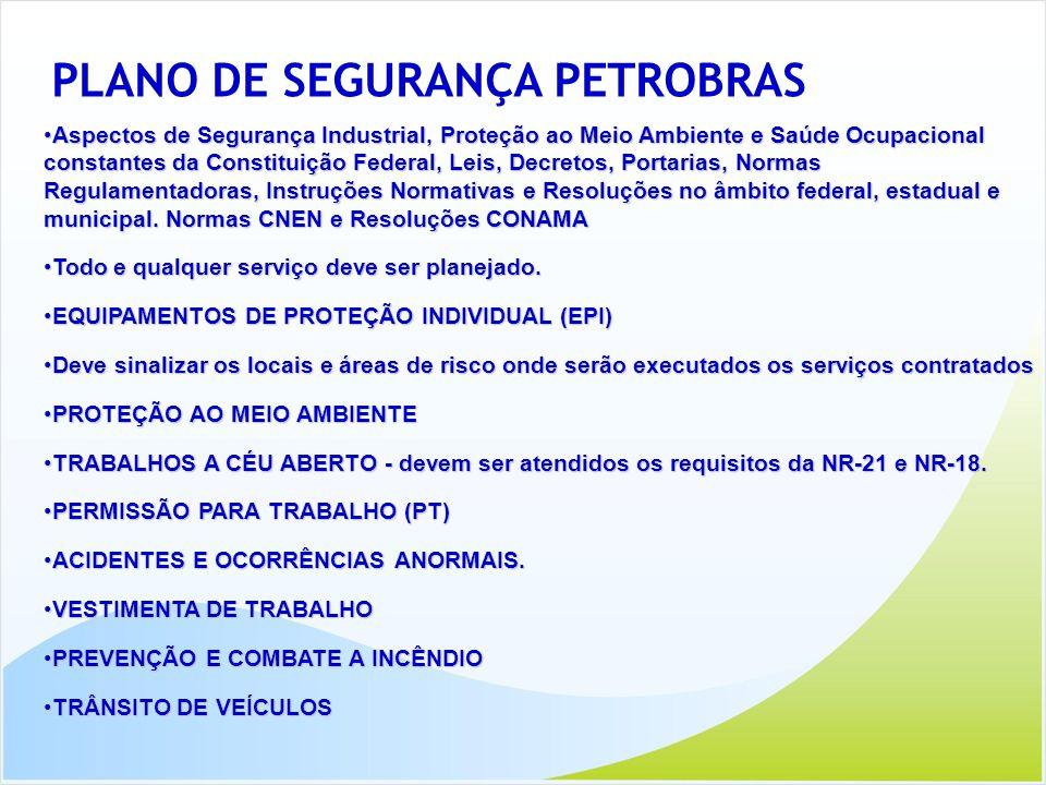 PLANO DE SEGURANÇA PETROBRAS