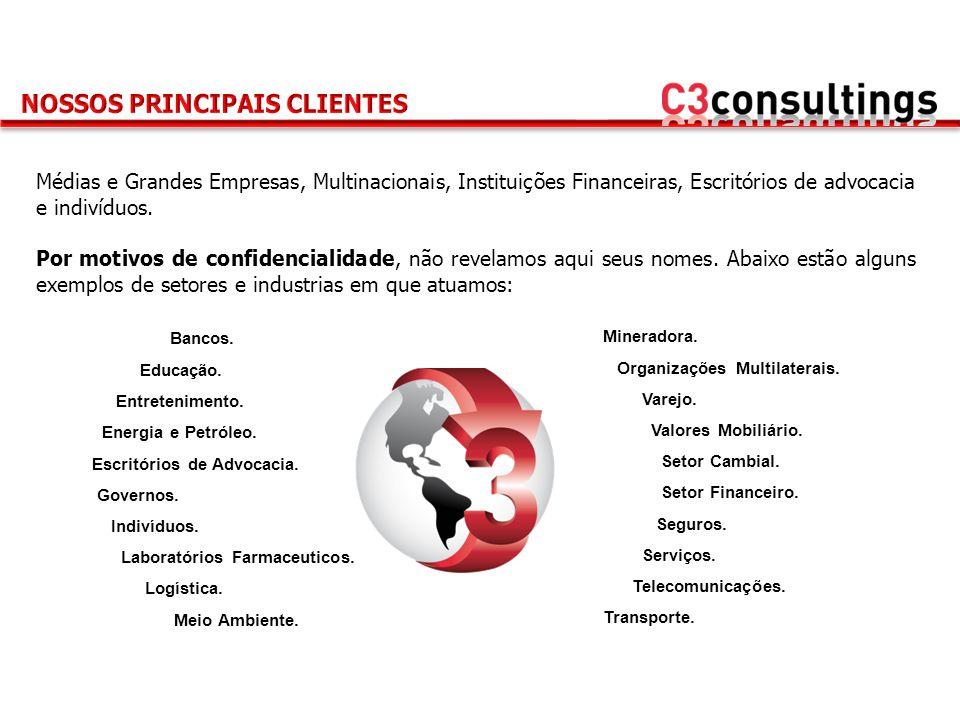 NOSSOS PRINCIPAIS CLIENTES
