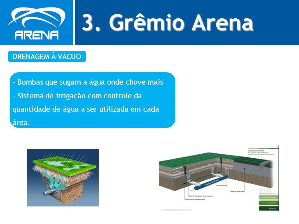 3. Grêmio Arena DRENAGEM À VÁCUO
