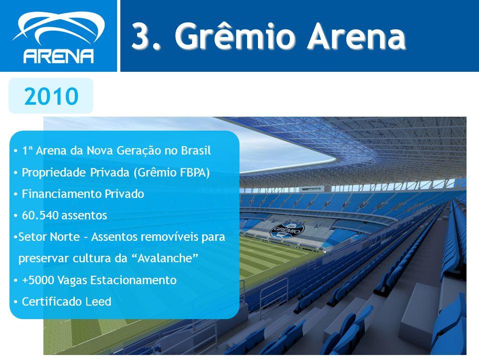3. Grêmio Arena 2010 1ª Arena da Nova Geração no Brasil
