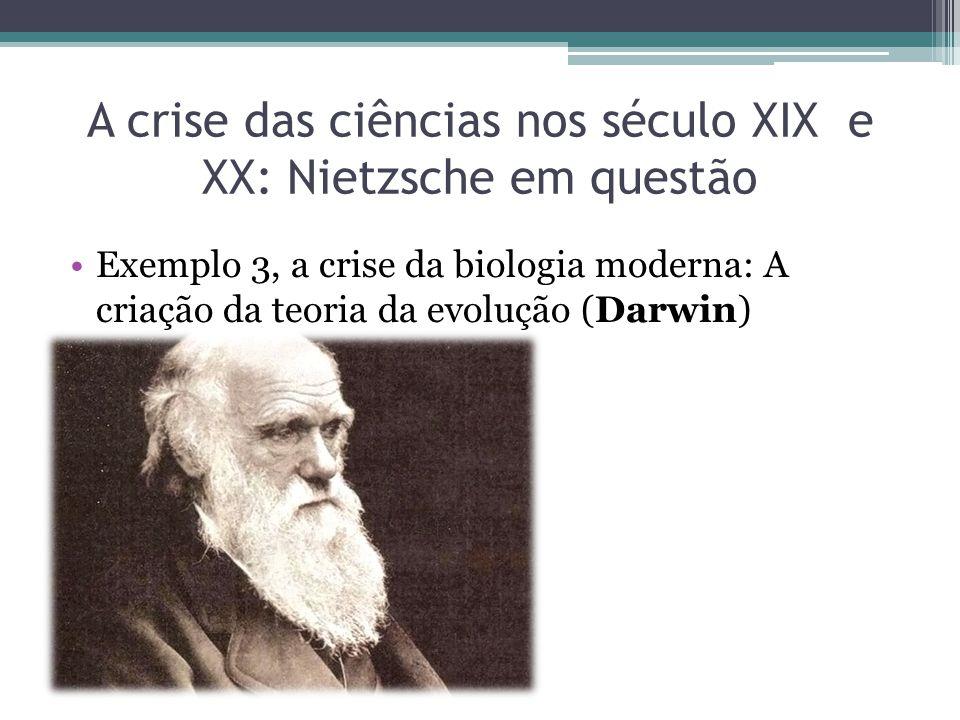 A crise das ciências nos século XIX e XX: Nietzsche em questão