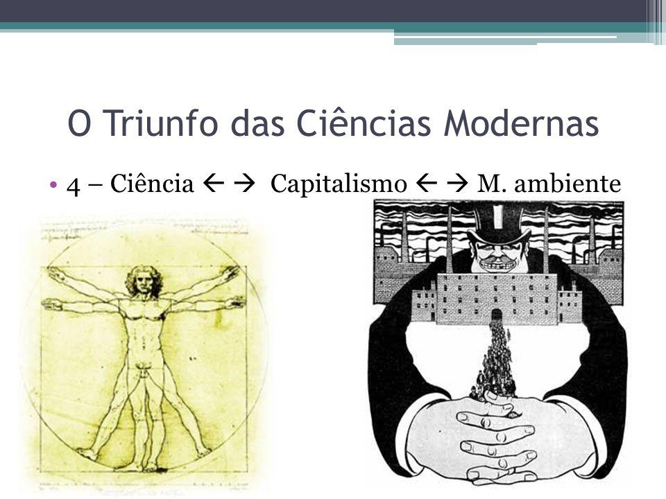 O Triunfo das Ciências Modernas