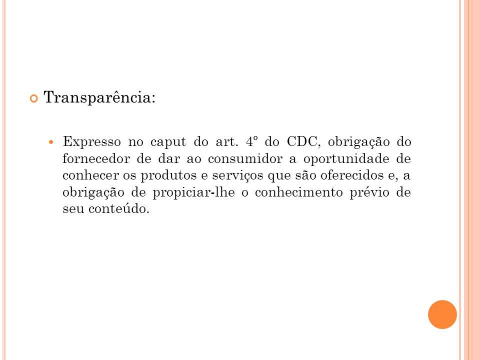 Transparência: