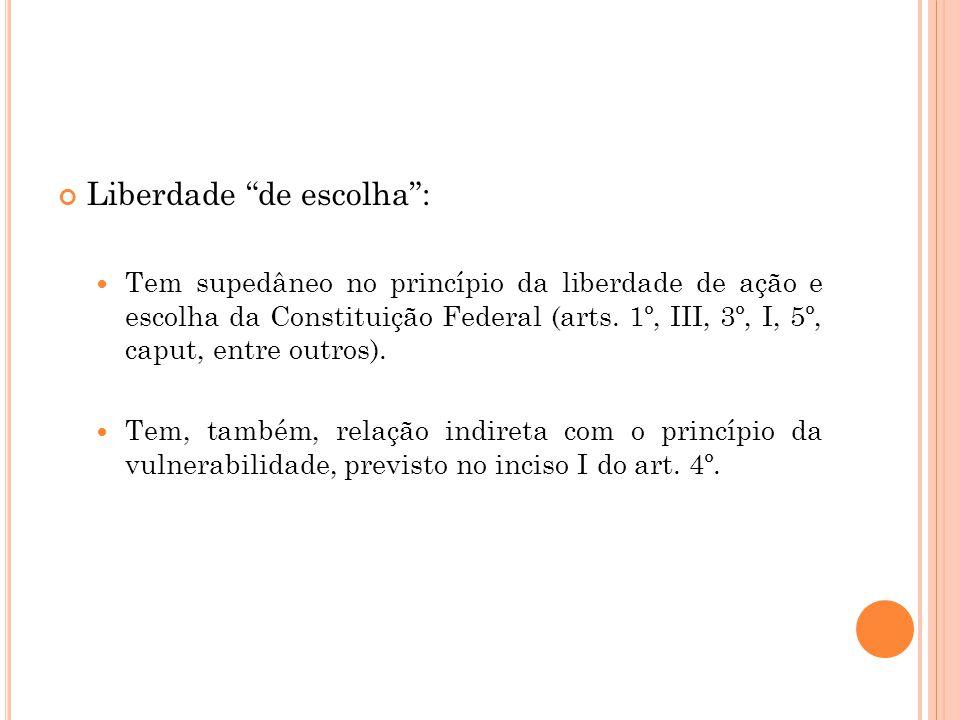 Liberdade de escolha :