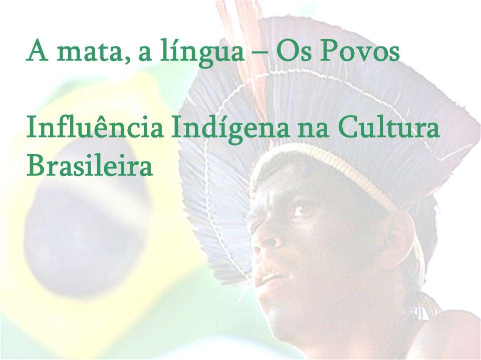 A mata, a língua – Os Povos Influência Indígena na Cultura Brasileira