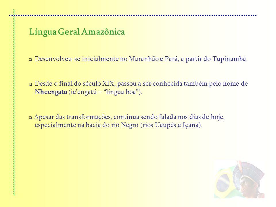 Língua Geral Amazônica