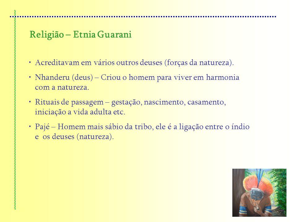 Religião – Etnia Guarani
