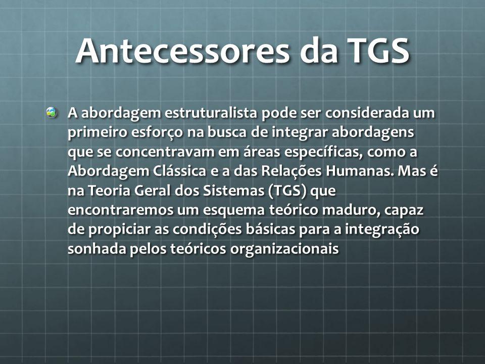 Antecessores da TGS