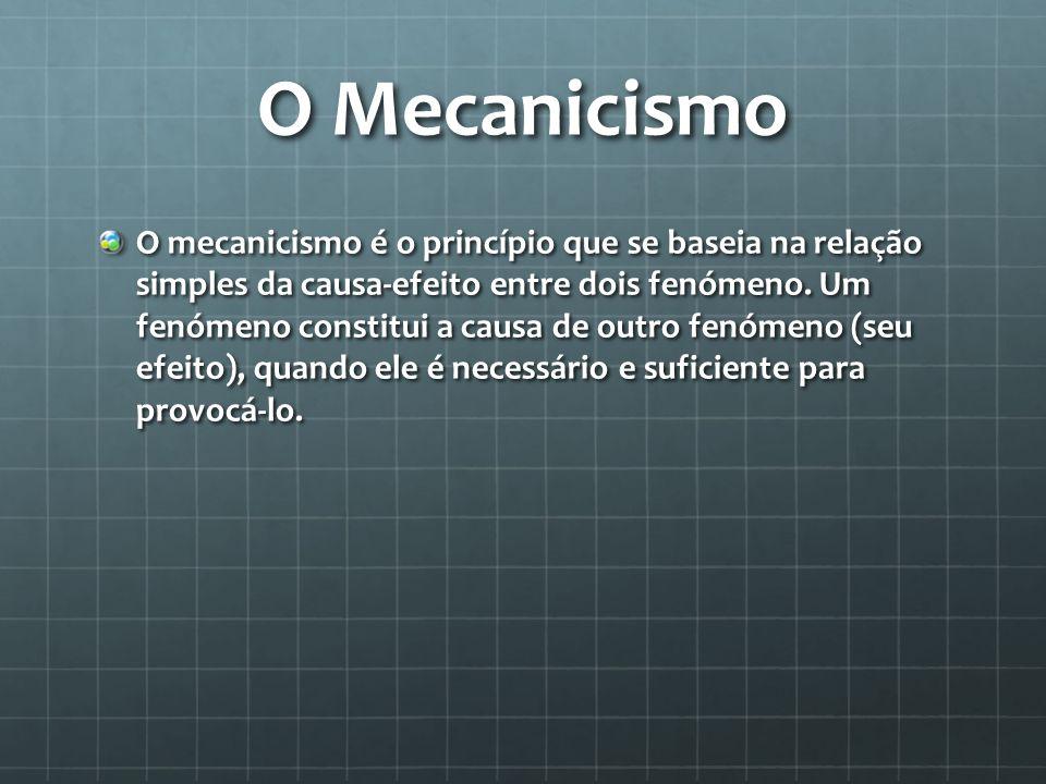 O Mecanicismo