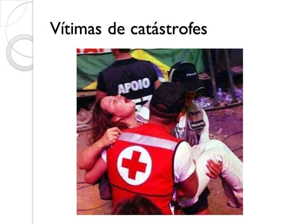 Vítimas de catástrofes