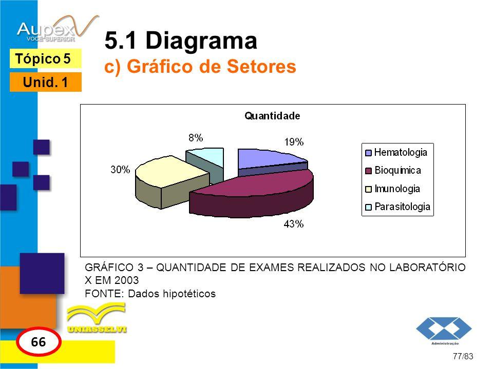 5.1 Diagrama c) Gráfico de Setores