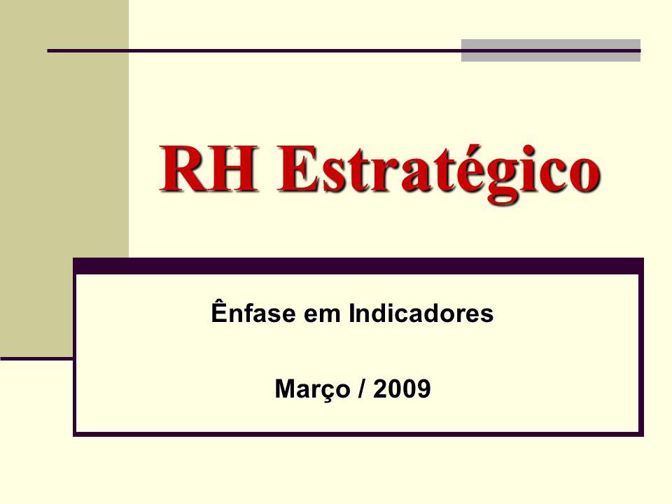 Ênfase em Indicadores Março / 2009