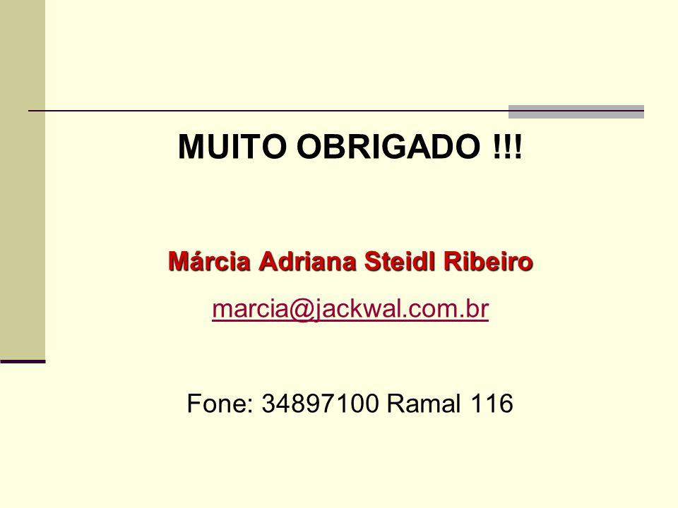 Márcia Adriana Steidl Ribeiro