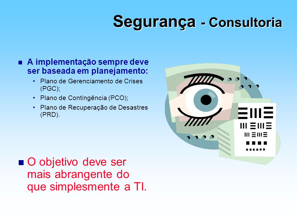 Segurança - Consultoria